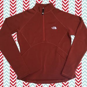 The North Face Flight Series Red Half Zip Small